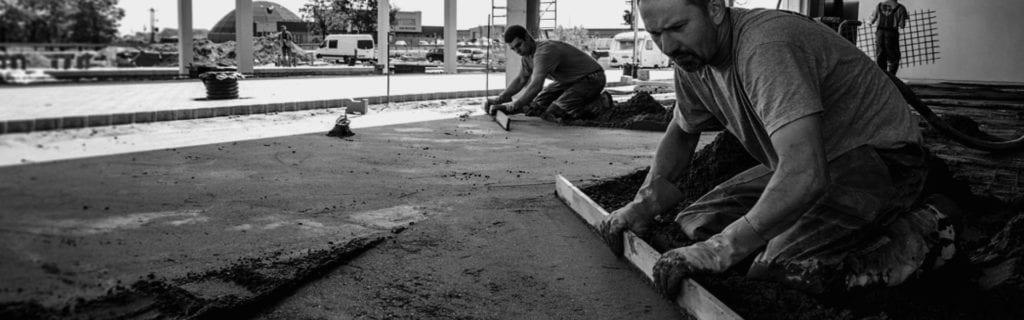 Docieplenie posadzki betonowej